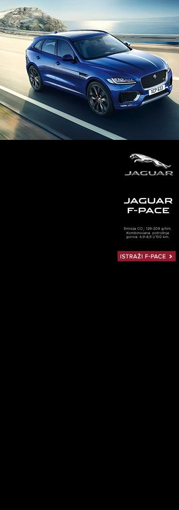 Jaguar fpace - levo