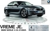 Akcija za BMW Serije 3