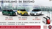 Open Week u Fiat salonima