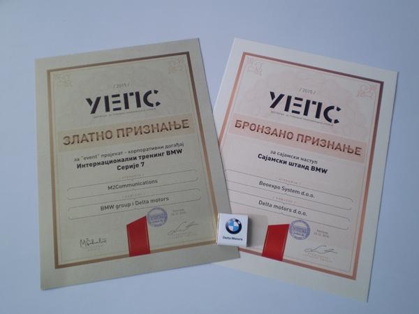 Dva priznanja za Delta Motors