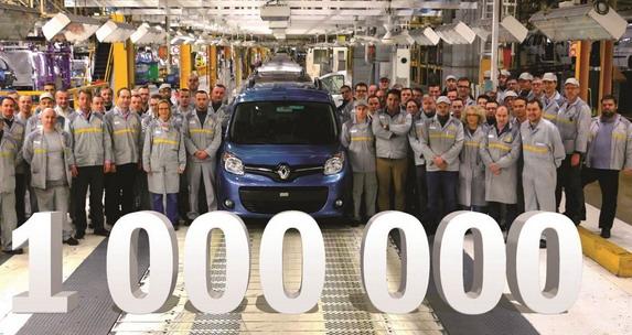 Renaultova fabrika Maubeuge proizvela milioniti Kangoo druge generacije