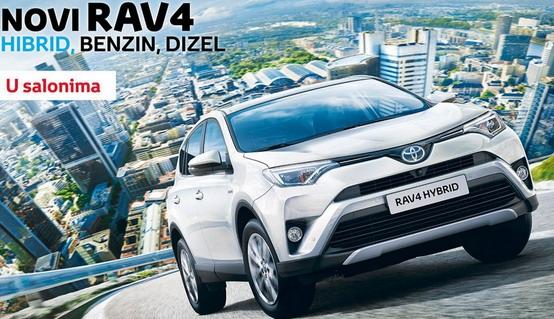 Toyota RAV4 facelit u Srbiji od 25.700 evra