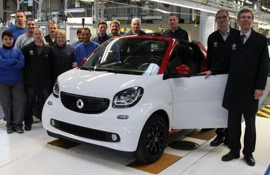 Počela serijska proizvodnja novog Smarta ForTwo Cabrio