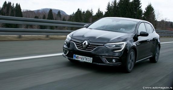 Novi Renault Megane , cena u Srbiji od 13.990 evra,