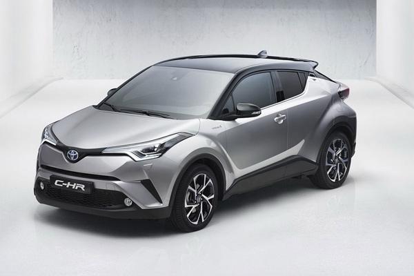 Toyota C-HR na prvim fotografijama - Ženeva 2016