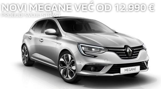 Renault i Dacia sajamska ponuda za BG Car Show 2016