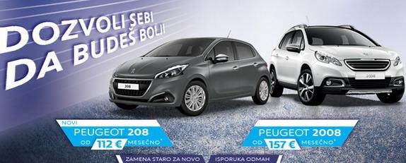 Peugeot na BG Car Show-u