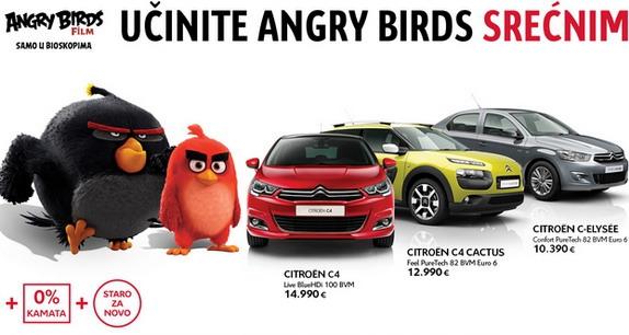 CITROËN i Angry Birds u akciji