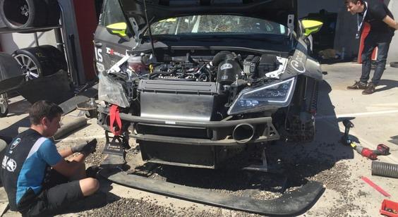 TCR Imola – Nesportski potez Vernea izbacio iz trke Borkovića