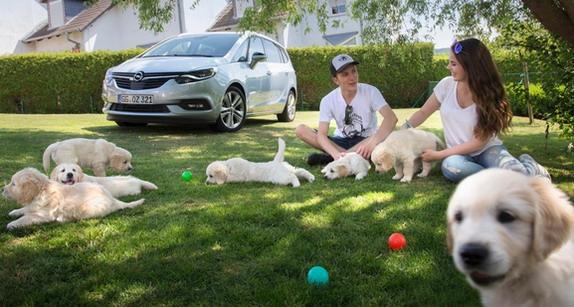 Psi na putovanju: Opel nudi prostor i još nešto više za čitav čopor