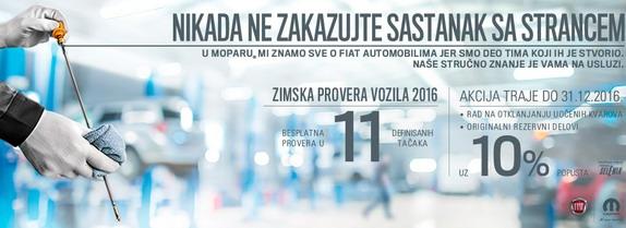 FCA zimska provera vozila: Nikada ne zakazujte sastanak sa strancem