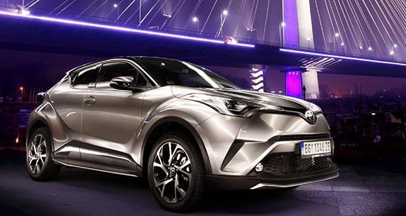 Počela prodaja novog krosovera Toyota C-HR