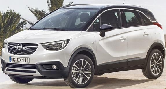 Opel Crossland X: zvanične fotografije