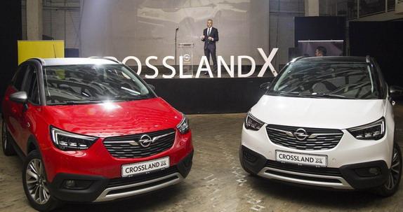 Potpuno novi Opel Crossland X je premijerno prikazan domaćem tržištu