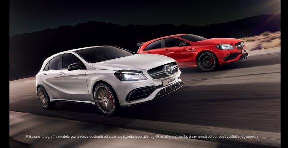 Sajamska ponuda za Mercedes A klase