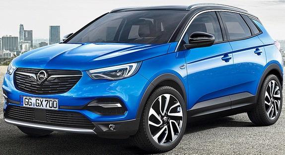 Opel Grandland X: prve zvanične slike