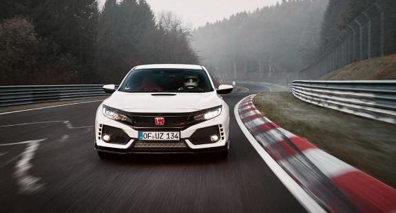 Novi Civic Type R postavio rekord za serijska vozila sa prednjim pogonom na Nirburgringu