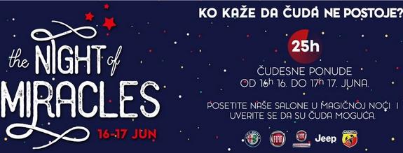 FCA Srbija - Night of Miracles