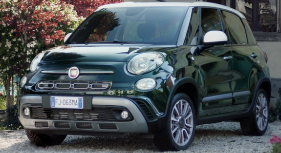 Komunikacione kampanje povodom početka prodaje novog modela Fiat 500L