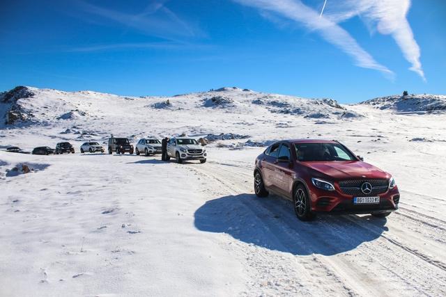 Mercedes-Benz Off-Road avantura na Jahorini