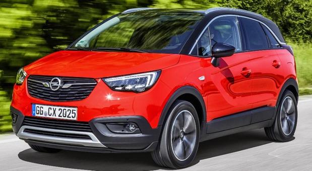 """Opel Crossland X je pobednik Euro NCAP """"Best in Class 2017"""""""