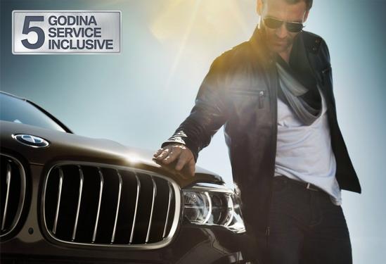 Uz svaki kupljen novi BMW - 5 godina BMW Service Inclusive