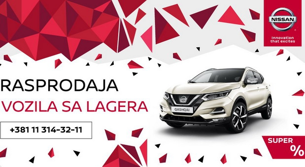 LF Auto Centar: Rasprodaja Nissan vozila sa lagera