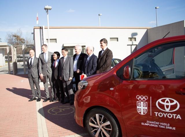 Toyota uz Olimpijski tim Srbije na putu za Tokijo!
