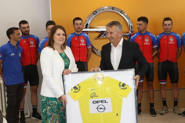 Opel uz reprezentativce Srbije u 58. Međunarodnoj biciklističkoj trci kroz Srbiju