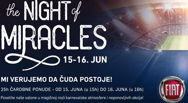 FCA Srbija: Noć u kojoj je sve moguće