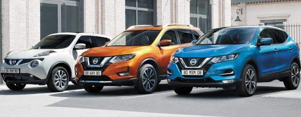 Ponuda za Nissan crossovere