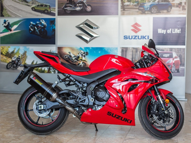 Euro Sumar Vredan poklon uz Suzuki motocikle