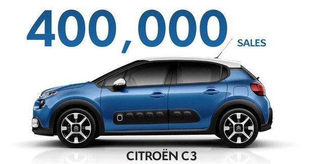 Citroen prodao 400.000 primeraka novog C3
