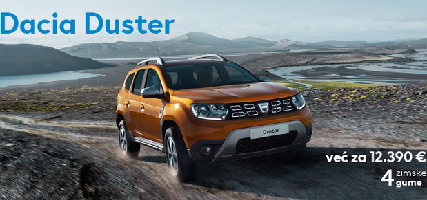 Specijalna ponuda za kupovinu Dacia vozila