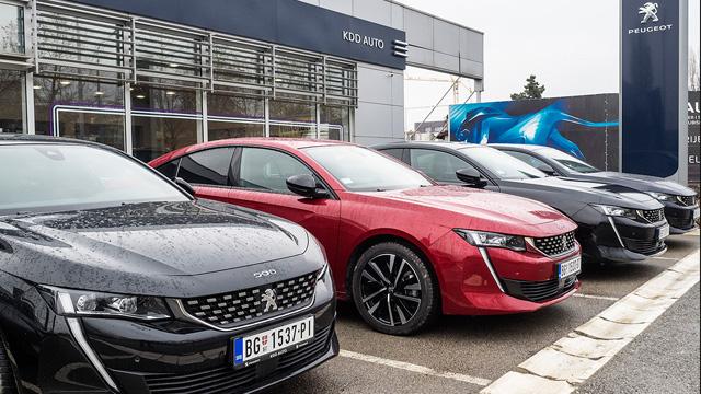 Stigao je novi Peugeot 508 - prvi put na srpskim putevima