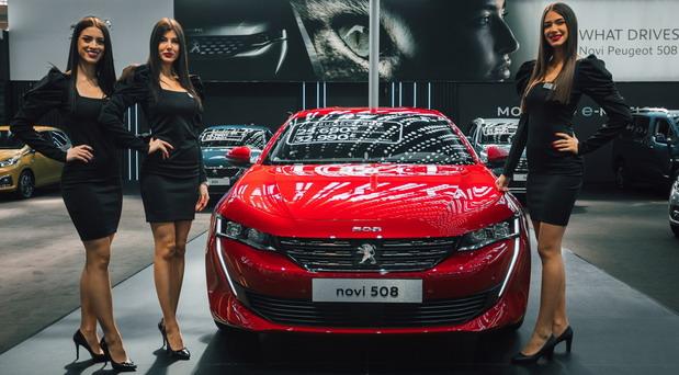 Peugeot na Međunarodnom salonu automobila u Beogradu