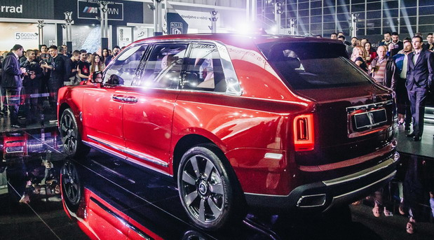 Rolls-Royce Cullinan debitovao u Srbiji