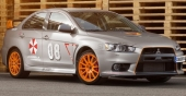 Schwabenfolia Mitsubishi Lancer EVO X Stealth Fighter
