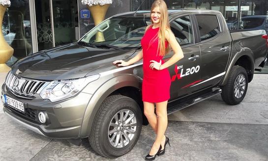 Novi Mitsubishi L200 predstavljen u Beogradu