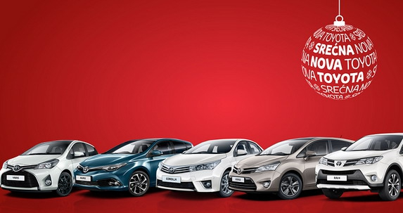 Novogodišnja ponuda Toyota vozila sa lagera