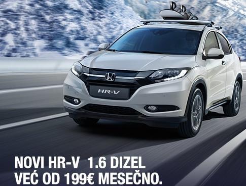 Honda paketi finansiranja vozila za modele CR-V i HR-V