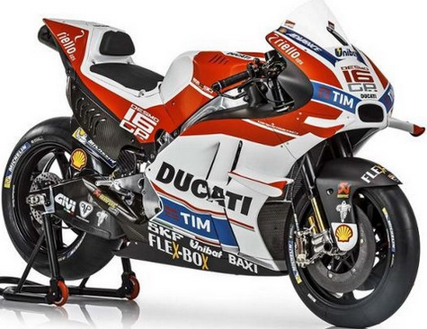 Ducati predstavio novi Desmosedici GP