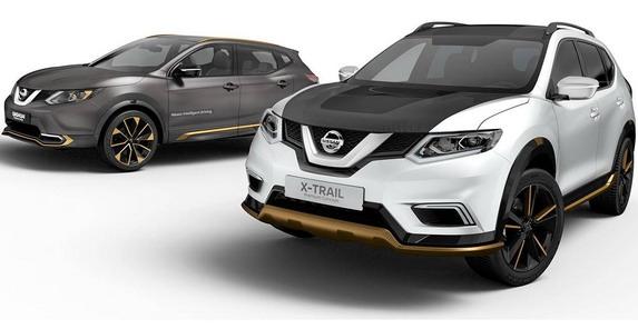 Nissan X-Trail i Nissan Qashqai Premium Concept