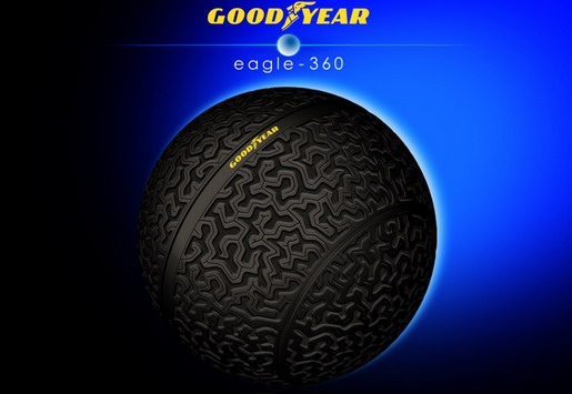 Predstavljen Goodyear konceptualni pneumatik za autonomna vozila budućnosti