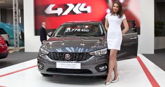 FIAT na BG Car Show