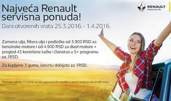 Dani otvorenih vrata u Renaultu