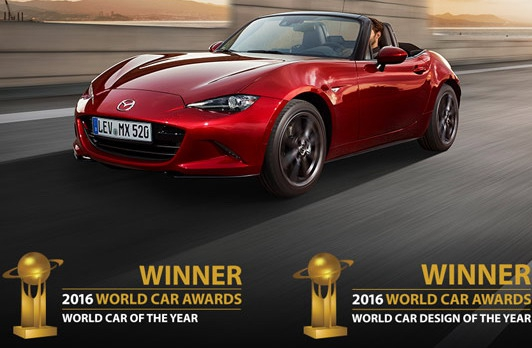 Nova Mazda MX-5 - Svetski auto 2016. godine