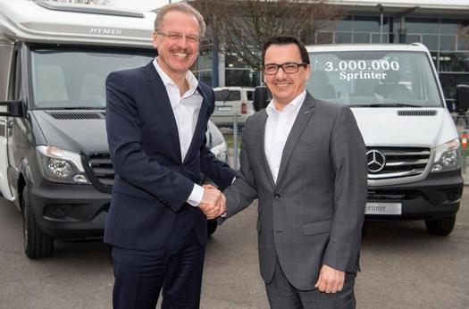 Za 20 godina prodato tri miliona Mercedes Sprintera