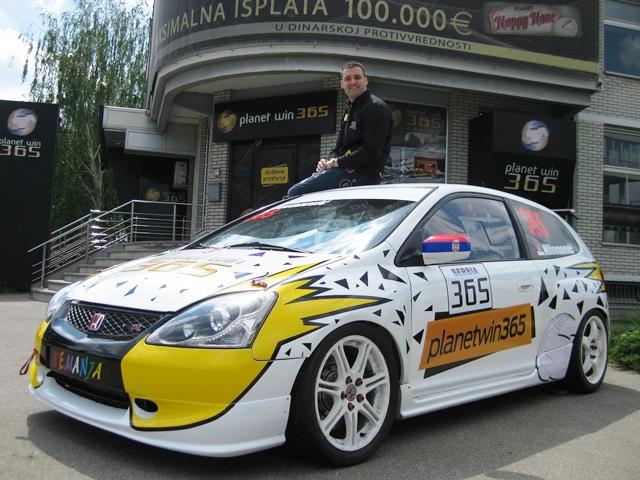 Nemanja Milovanović i planetwin365 na CEZ šampionatu