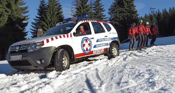 Dacia nastavlja partnerstvo sa Gorskom službom spašavanja